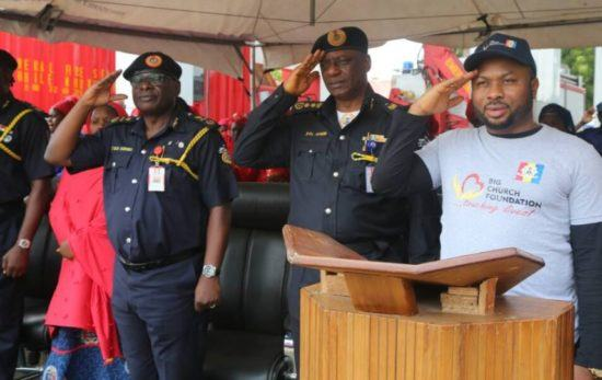 Churchill Donates Ambulance To Fire Service
