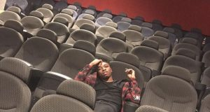 Mayorkun rents a whole cinema in Owerri