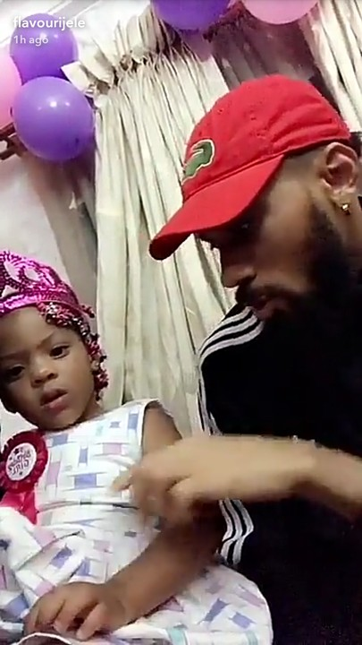 Phyno and Anna Banner's daughter