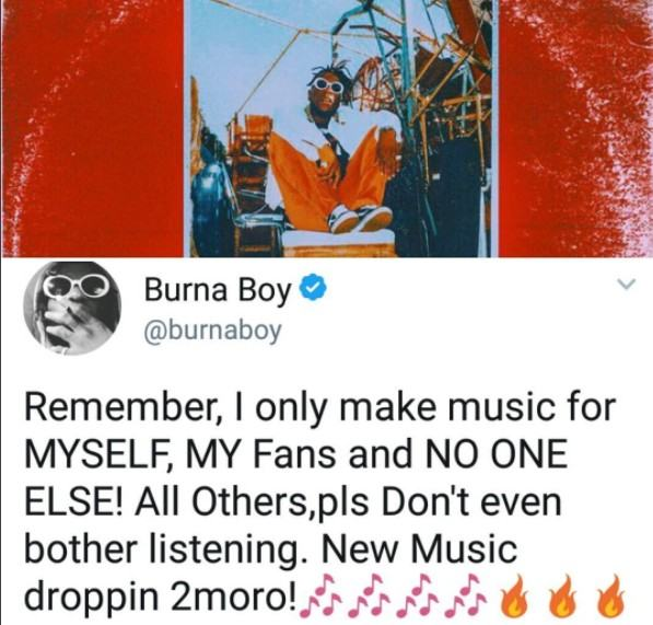 Please don't listen to my music if you are not a fan
