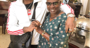Davido and Angelique Kidjo in South Africa