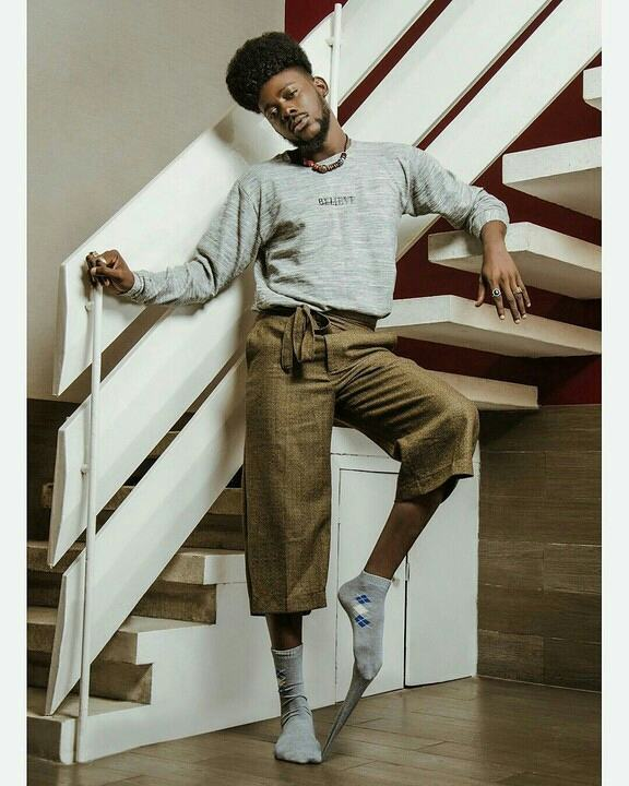I want to be an International Model - Adekunle Gold with New Pose