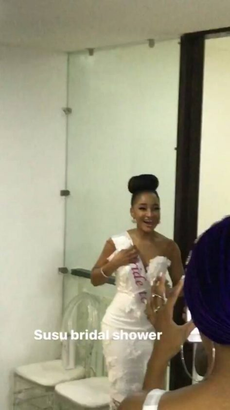 Adesua Etomi All Shades Of Gorgeous For Her Bridal Shower