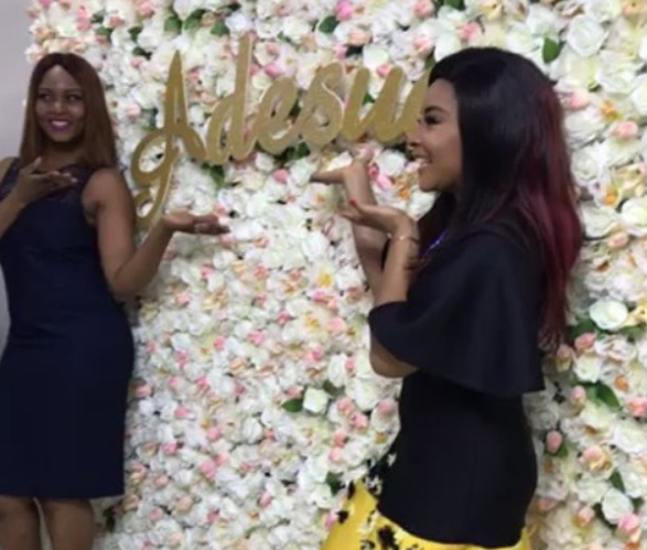 Adesua Etomi Bridal Shower - NaijaVibe