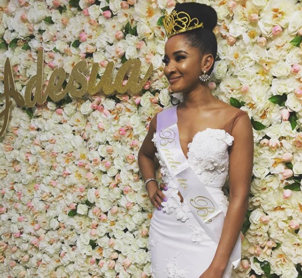Adesua Etomi's bridal shower