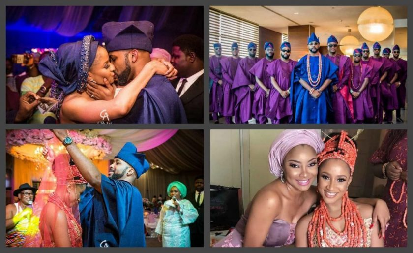 Banky W Adesua Etomi traditional wedding
