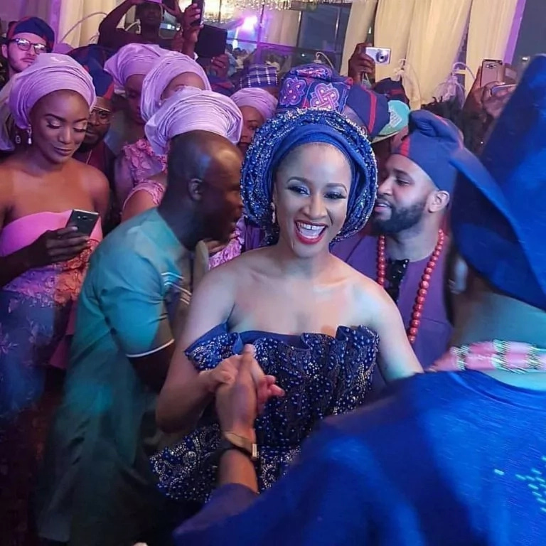Banky W Adesua Etomi traditional wedding NaijaVibe 2017
