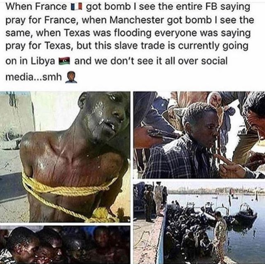 Chris Brown Speaks About The Slave Trade Going On In Libya