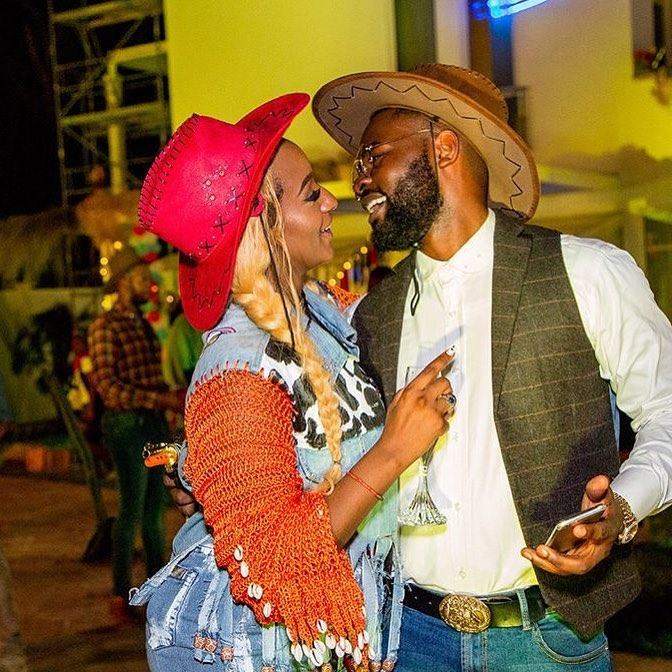 Falz and Dj Cuppy