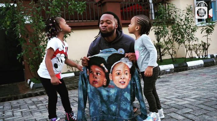 Flavour and his girls
