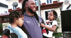 Flavour and his kids