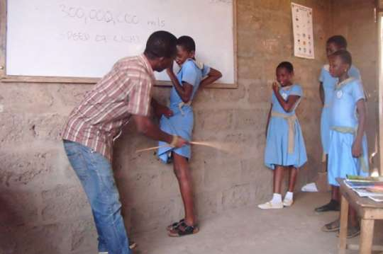 How much longer should children tolerate being caned at school?