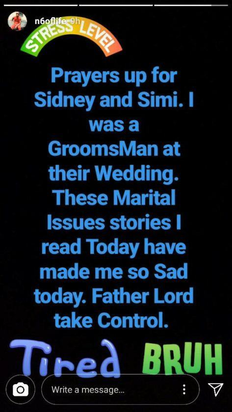 N6 reacts to Simi and Dr SID's marital crisis