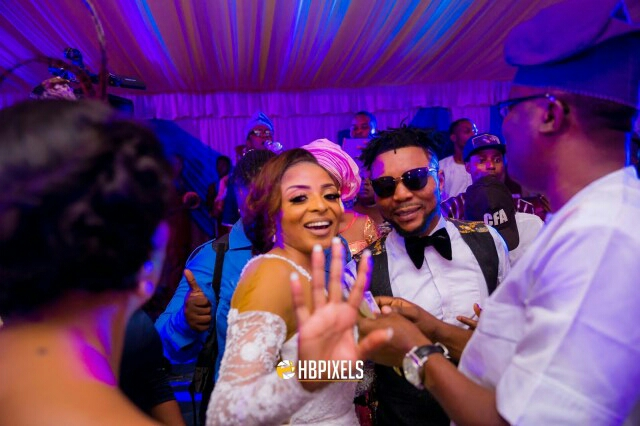Oritse Femi and Nabila