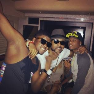 Skales, Banky W and Wizkid