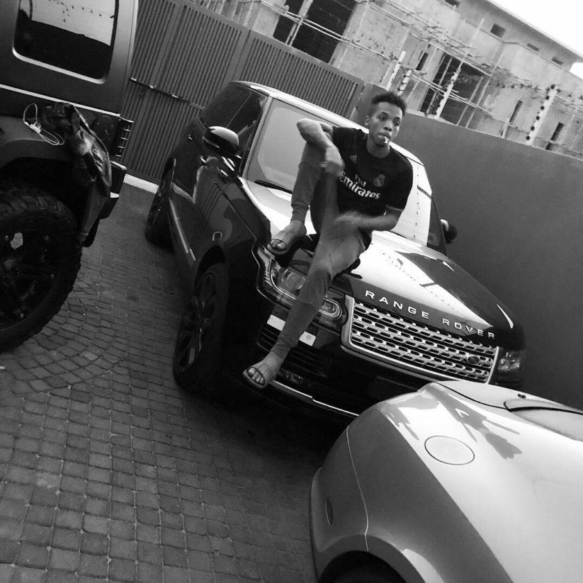 Tekno Displays The Exotic Cars In His Compound