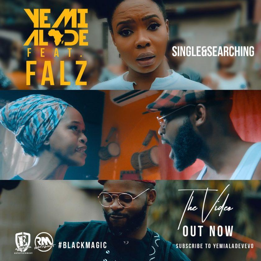Yemi Alade - Single & Searching ft Falz [ViDeo]