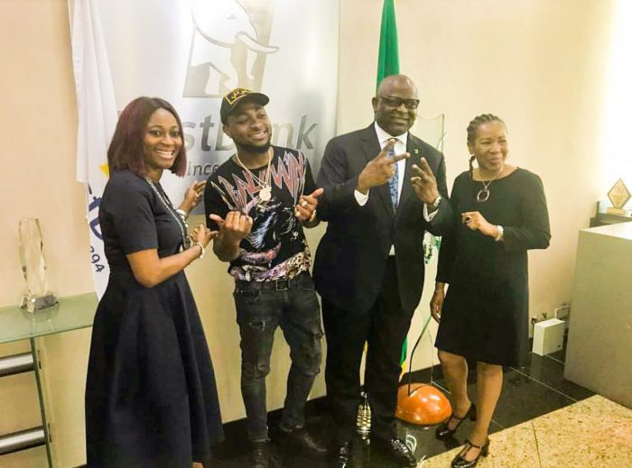 Davido Clinches Endorsement Deal with First Bank of Nigeria