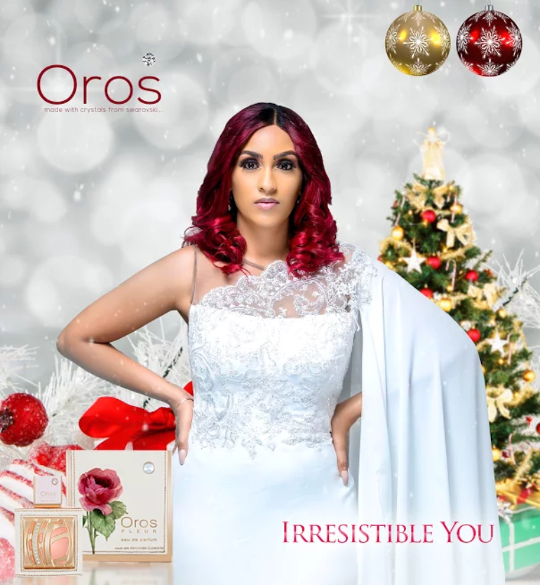 Juliet Ibrahim For Oros Perfume