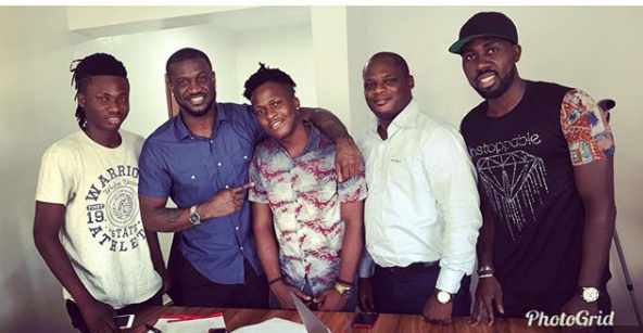 Peter Okoye signs SINGAH to P Classic Record Label