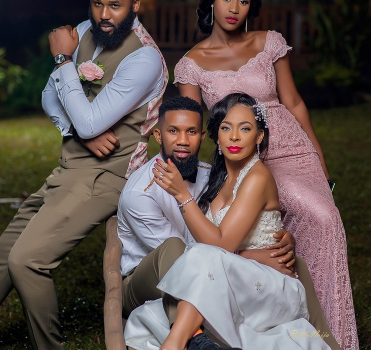 TBoss and Dj TTB Give Us Couple Goals In Wedding Shoot