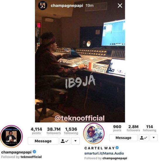 Tekno Now Signed To Drake's OVO Records