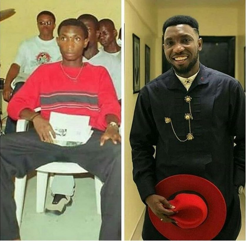 Throwback Picture Of Timi Dakolo