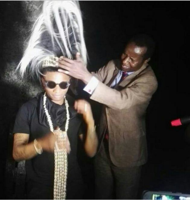 Wizkid Crowned King Live On Stage In Uganda