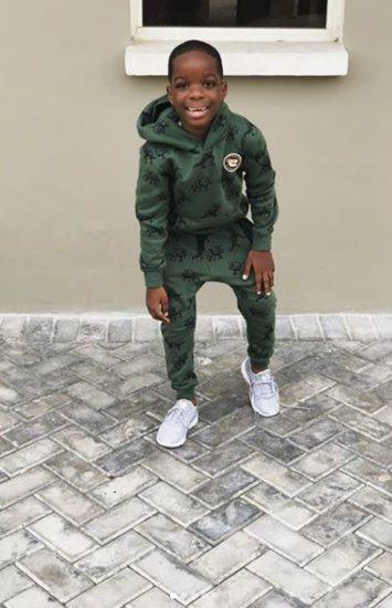 Wizkid's Son Boluwatife Swagged Up In New Photos