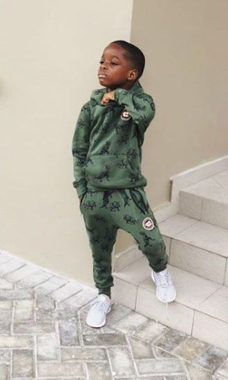 Wizkid's Son Boluwatife Swagged Up