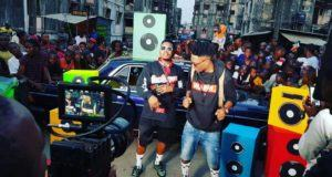 Efe & Olamide Shoot Video For Warri