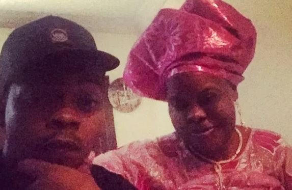 Olamide and his late mum