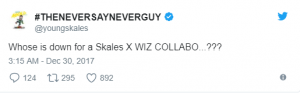 Singer Skales Reveals His Plans With Wizkid