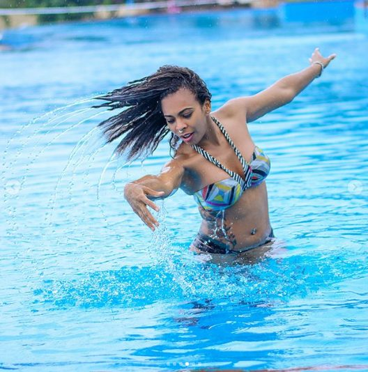 TBoss Posts Sultry Bikini Pictures As She Vacations