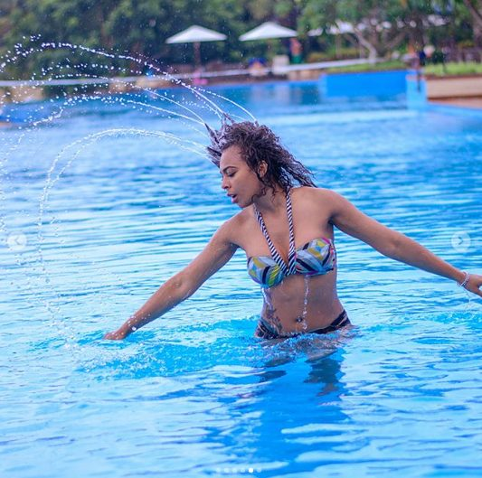 TBoss Posts Sultry Bikini Pictures