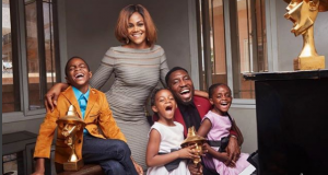 Timi Dakolo and His family