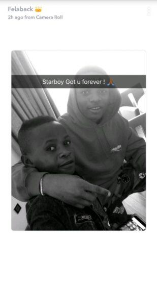 wizkid and Ahmed chilling