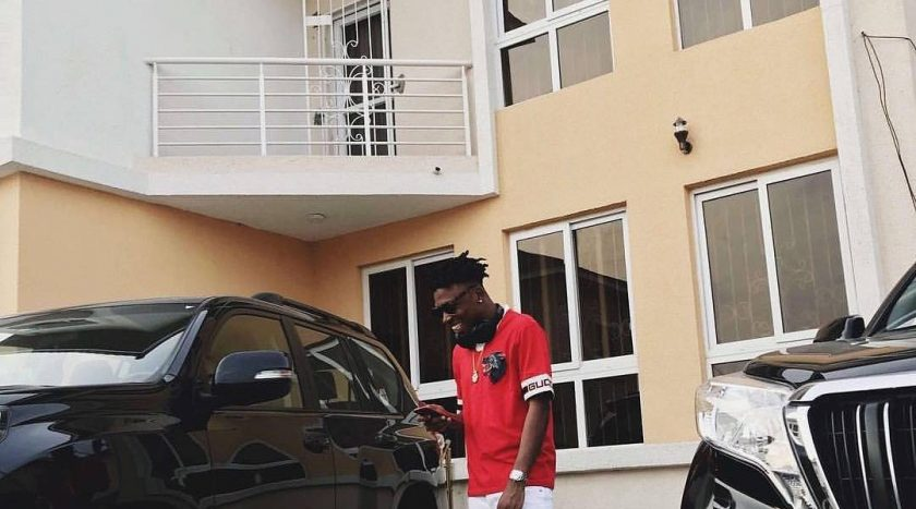 Singer Mayorkun Just Acquired His First Mansion