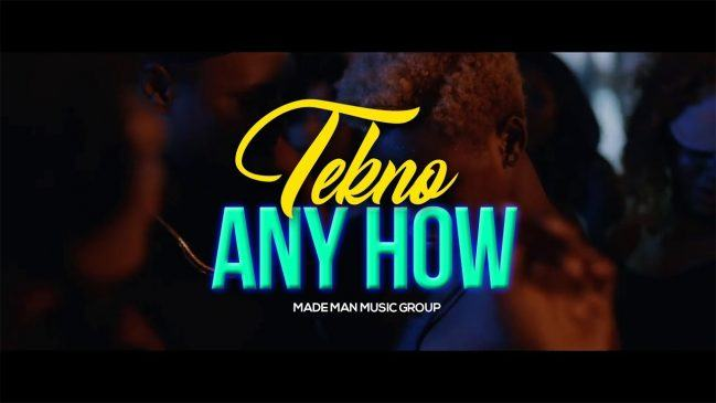 Tekno – Anyhow [ViDeo]