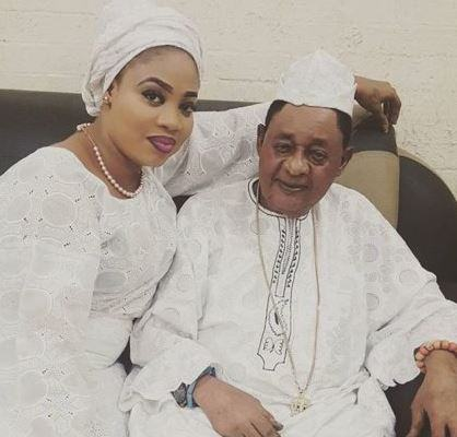 Oba Lamidi Adeyemi and his wife
