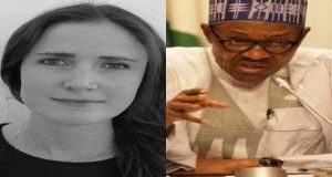 Stephanie Hegarty and buhari