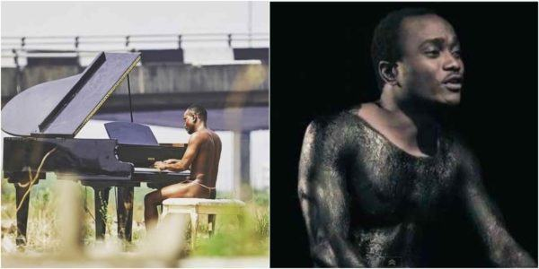 singer brymo rocks g string while playing the piano in public lailasnews 3