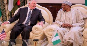 tillerson and buhari