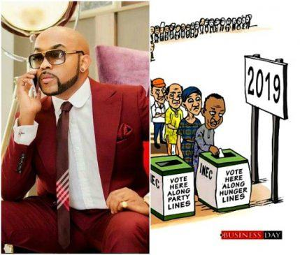 INEC will not count your tweets get your PVC – Banky W tells Nigerian Youths lailasnews