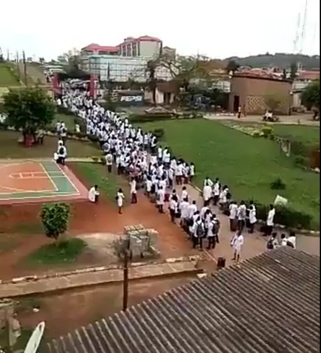 UI College of Medicine Students Forced Out Of Their Hall Of Residence After 3 day Sit At Home Against Introduction Of New N100000 Professional Training Levy 2