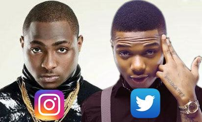 Wizkid Davido do battle in dubai