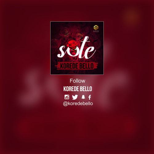 Korede Bello – Sote [AuDio]