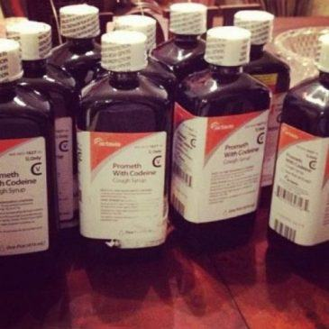 Some cough syrup with codeine e1525192589225