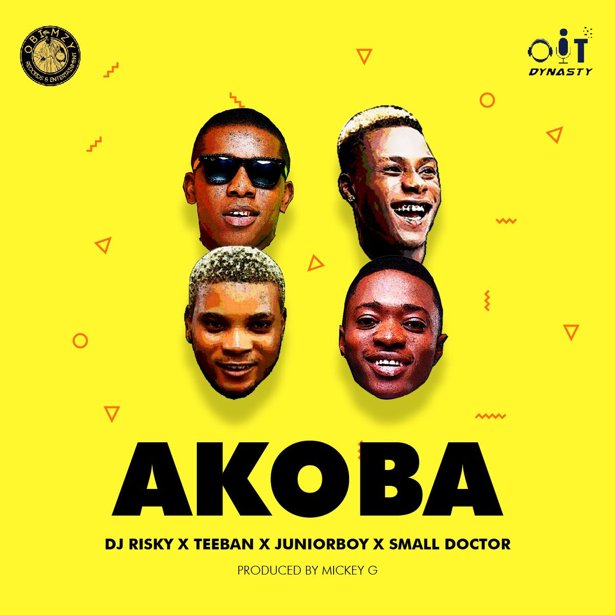 Junior Boy, Teeban, Dj Risky & Small Doctor – Akoba [AuDio]