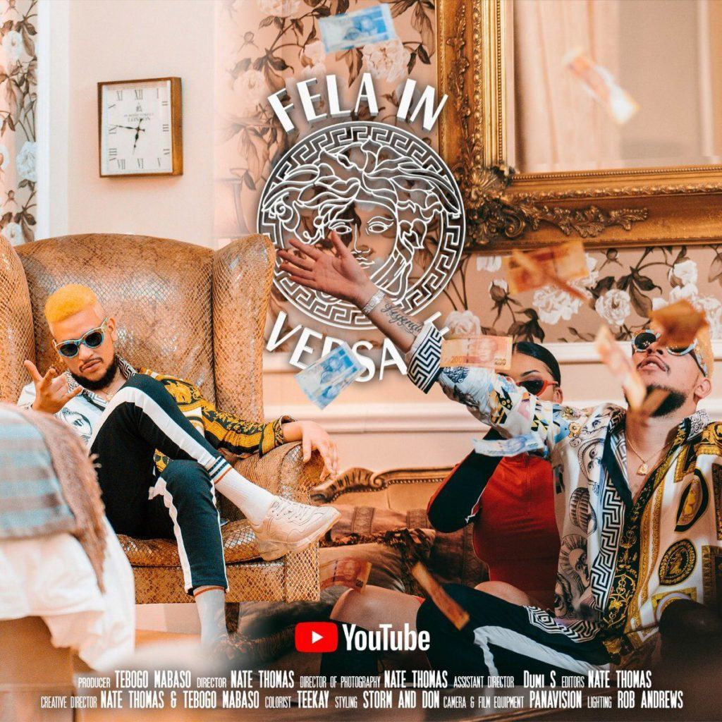 AKA – Fela In Versace ft Kiddominant [ViDeo]